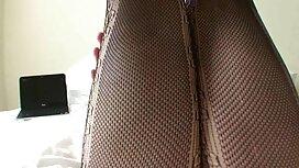 سحق ، الشعر الأحمر ، سحب بلطف الذيل في موقع سكس اجنبي جديد نهايات شريط مطاطي